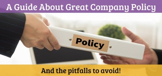 A Guide About Great Company Policy