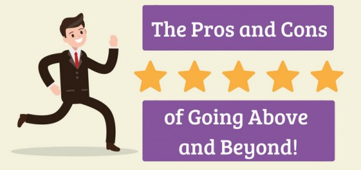 The Pros and Cons of Going Above and Beyond at Work