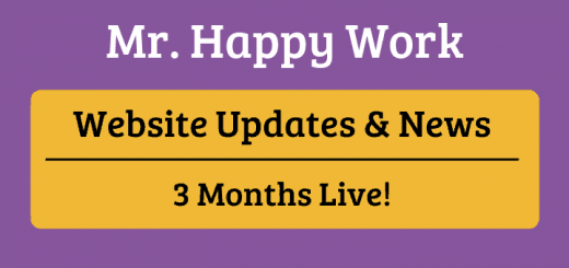 Mr. Happy Work Updates and News