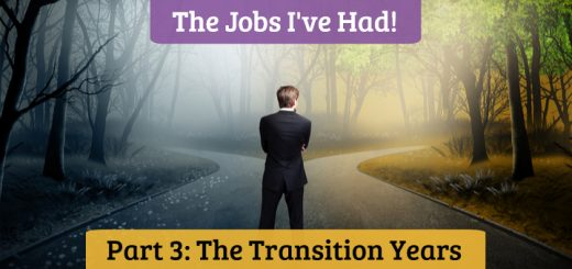 The Jobs I've Had, The Work I've Done: Part 3 - The Transition Years