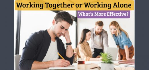 Working Together vs. Working Alone - What's More Effective?